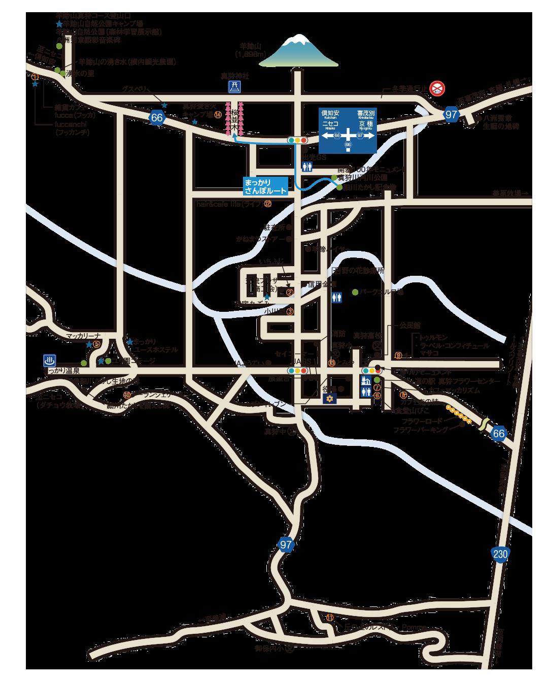 まっかり観光MAP